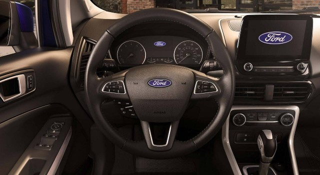2020 Ford EcoSport SE interior