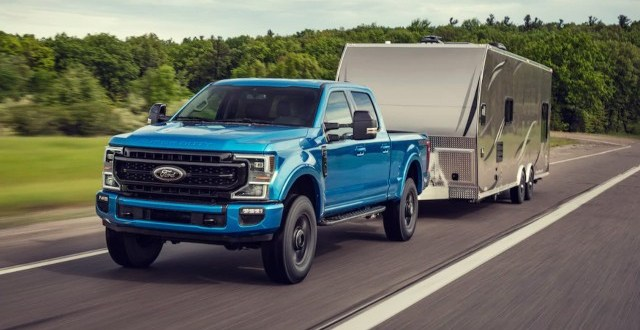 2020 Ford F-Series Super Duty Tremor exterior