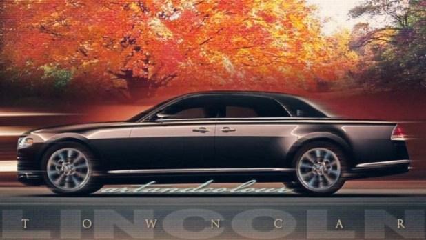 2021 Lincoln Town Car exterior