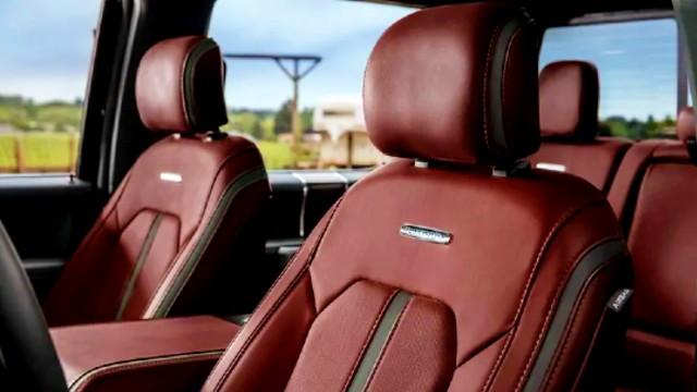 2020 Ford F-450 Platinum interior