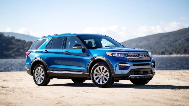2021 Ford Explorer Hybrid exterior