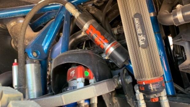 2020 Ford Bronco R suspension