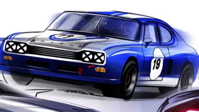 2021 Ford Capri rendering