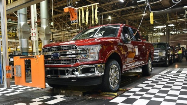 2022 Ford F-150 production