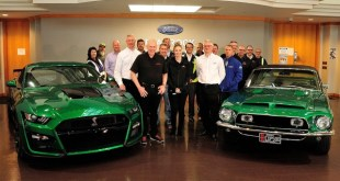 2020 Ford Shelby GT500 Green Hornet