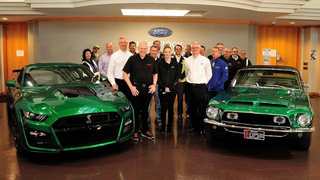 2020 Ford Shelby GT500 Green Hornet