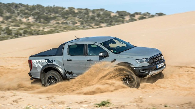 2021 Ford Ranger Raptor design