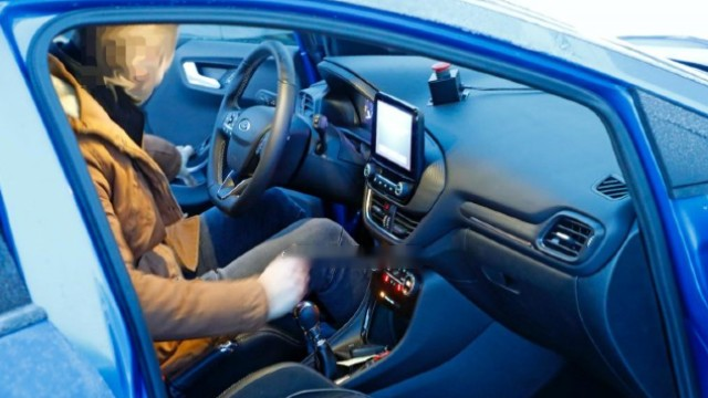2021 Ford Puma ST interior