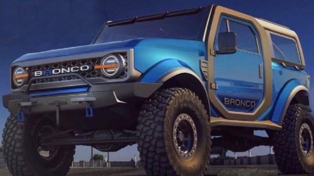 2021 Ford Bronco Raptor V8 design