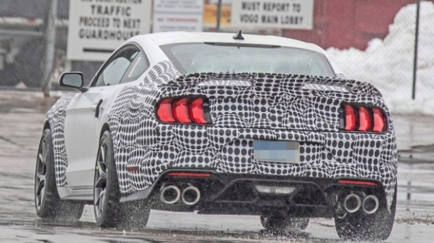 2021 Ford Mustang Mach 1 spied