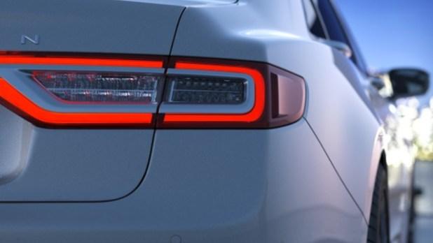 2021 Lincoln Continental rear