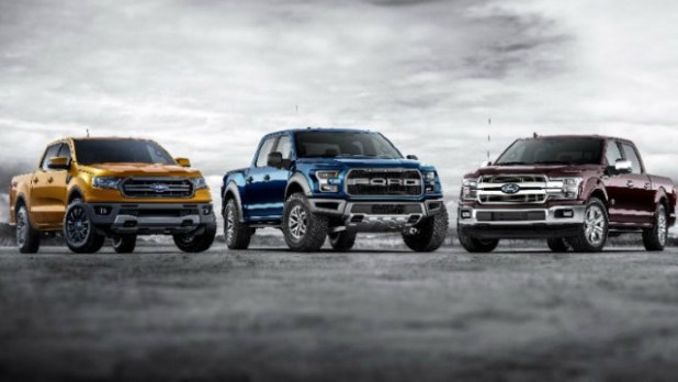 Ford Pickup Lineup