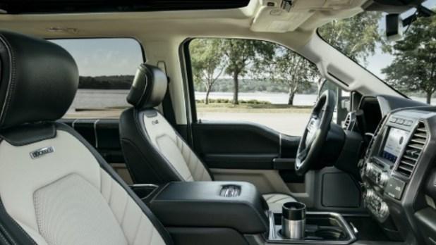 2021 Ford F-250 Super Duty interior
