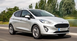 2021 Ford Fiesta facelift