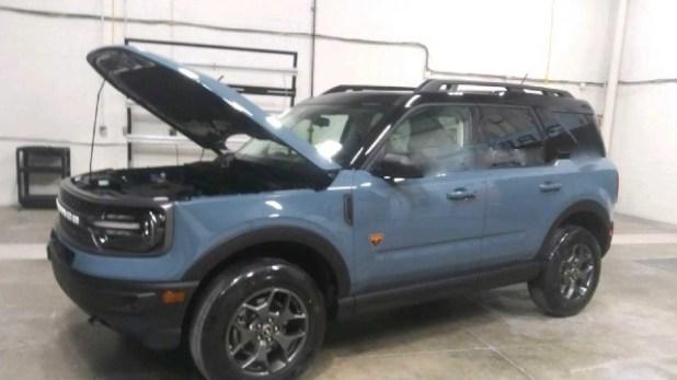 2021 Ford Bronco Sport engine