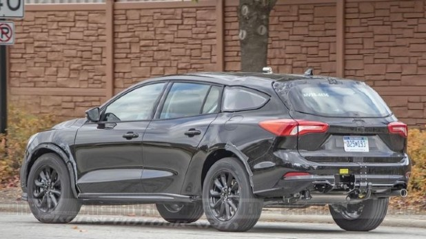 2021 Ford Fusion Wagon spied