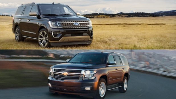 Expedition vs Tahoe dimensions