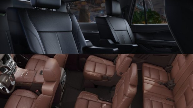 Expedition vs Tahoe interior