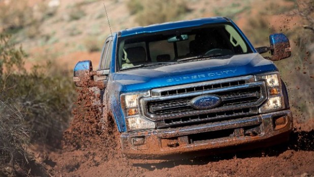 2021 Ford F-250 Tremor off-road