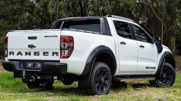2021 Ford Ranger Wildtrak design