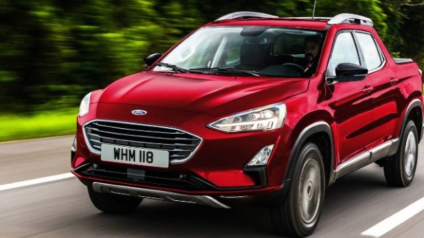 2021 Ford Focus Compact Pickup Truck styling