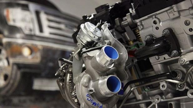 2021 Ford Bronco R Baja engine
