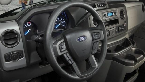 2021 Ford E-Series Cutaway interior