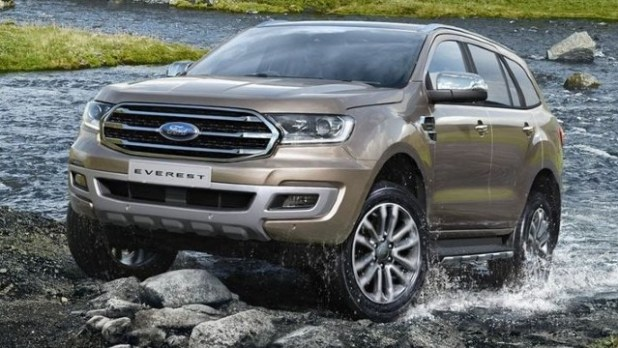 2022 Ford Everest redesign