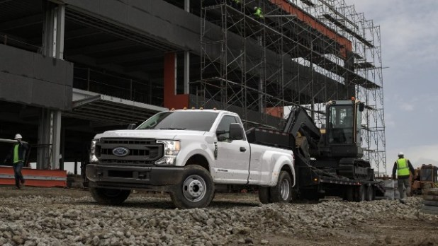 2022 Ford F-350 towing