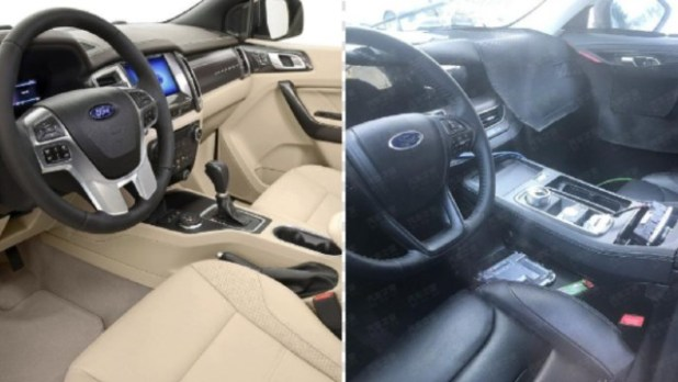2022 Ford Endeavour interior