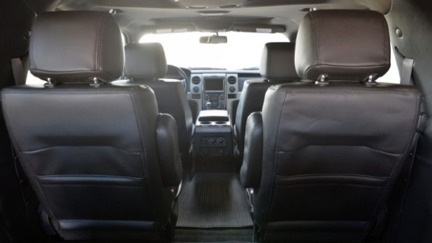 2022 Ford Excursion interior