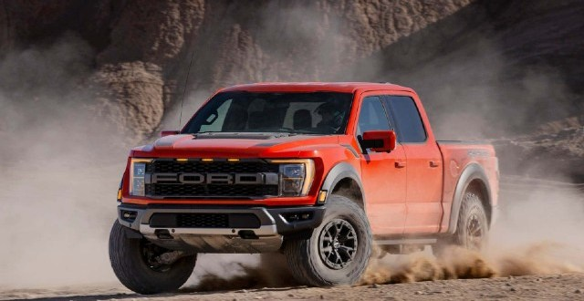 2022 Ford F-150 Raptor V8 redesign