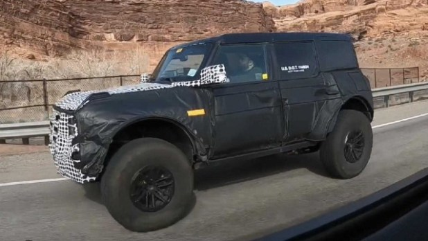 2022 Ford Bronco Warthog hybrid