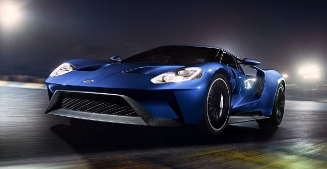 2022 Ford GT Supercar 0 to 60