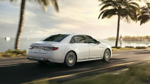 2022 Lincoln Continental exterior