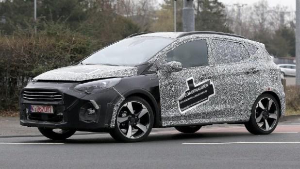 2022 Ford Fiesta facelift