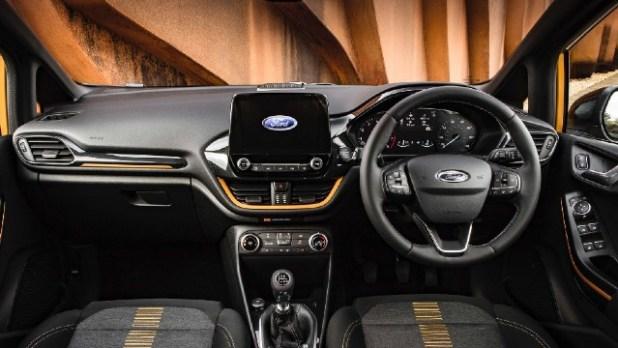 2022 Ford Fiesta interior