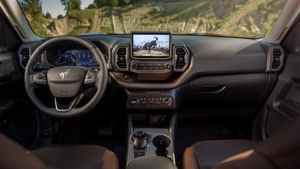 2022 Ford Bronco Sport Badlands interior