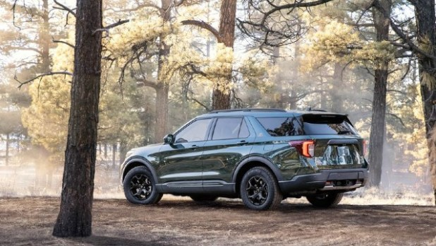 2022 Ford Explorer Timberline package