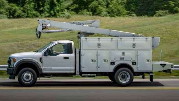 2022 Ford F-550 chassis cab