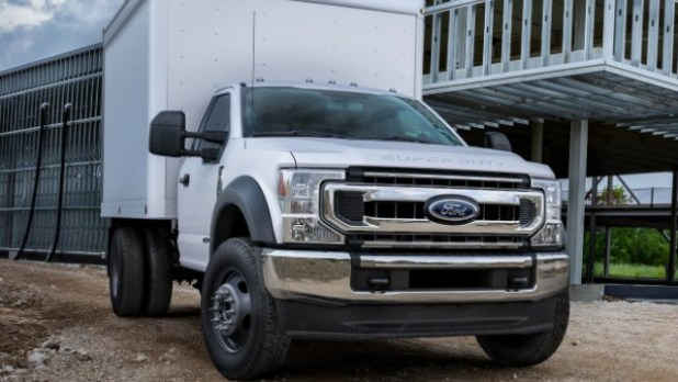 2022 Ford F-550 towing capacity