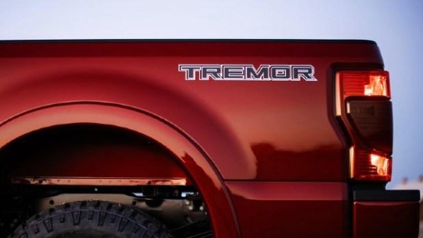 2022 Ford F-250 Tremor specs