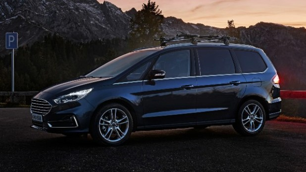 2022 Ford Galaxy colours