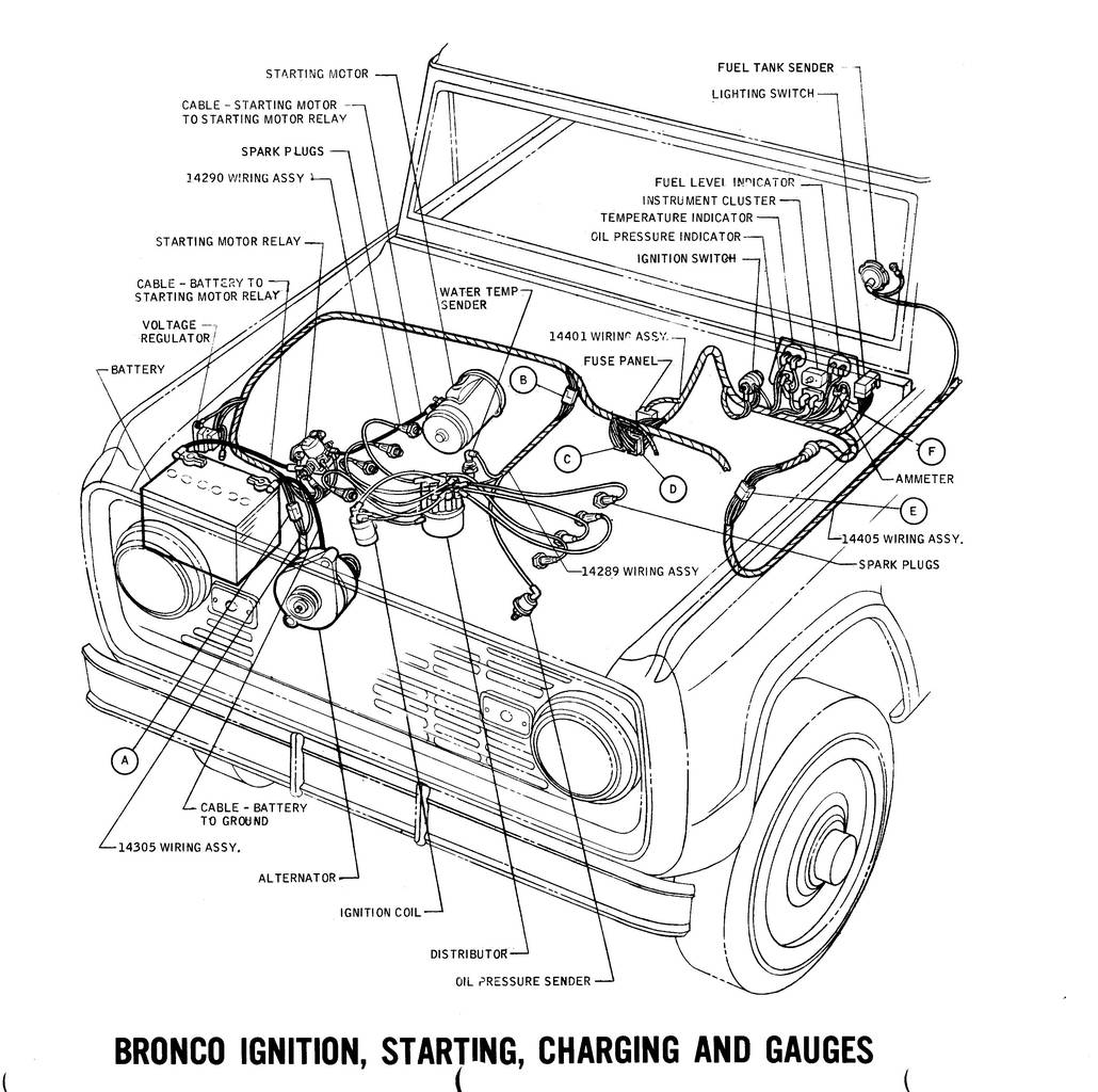 Diagram 79 Ford Bronco Wiring Diagram Full Version Hd