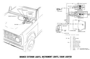 1971 Bronco wiring diagrams  Ford Truck Fanatics
