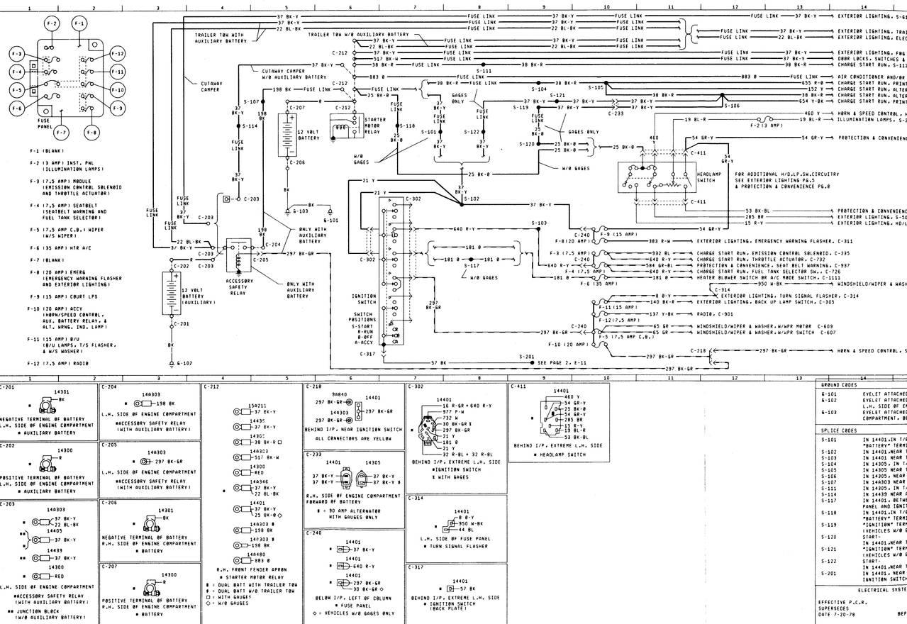 econoline wiring diagram