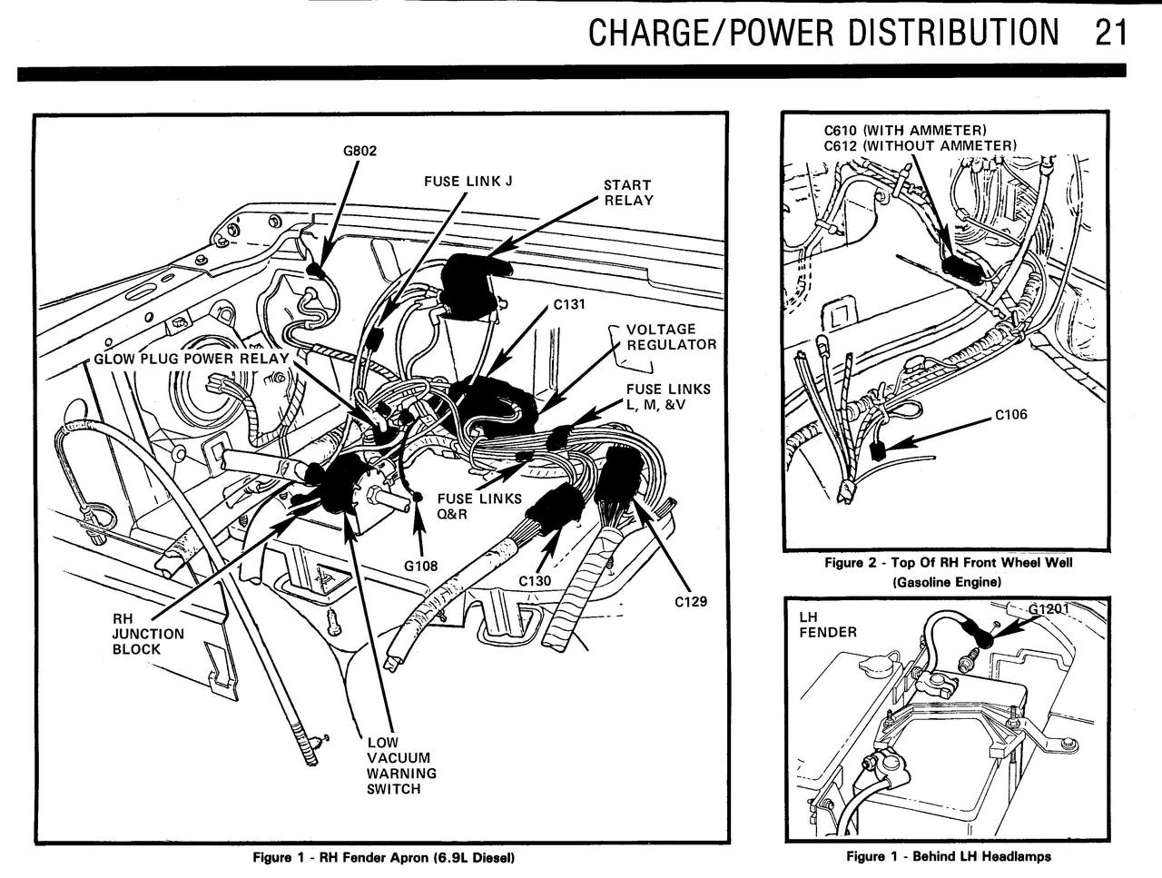 Bronco F150 350 Electrical And Vacuum Trouble