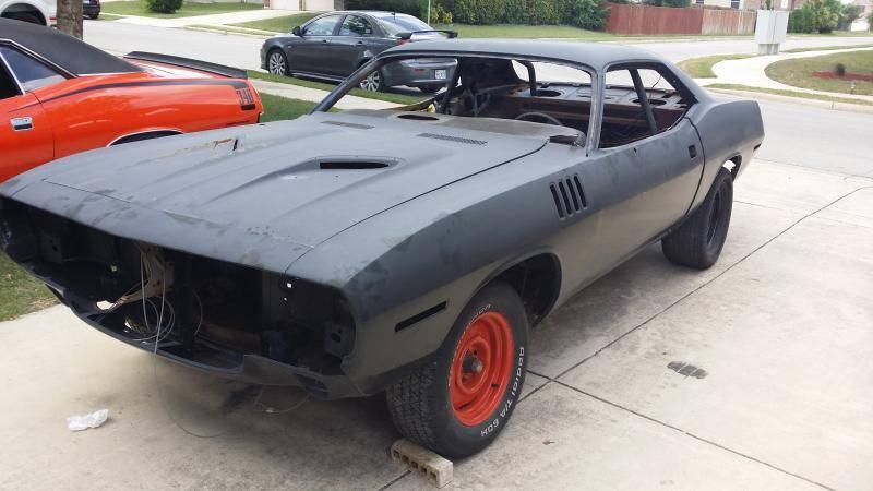 1971 Barracuda Project For E Bodies Only Mopar Forum