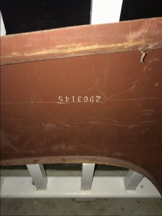Sold Nos 1970 Cuda Quarter Panel For E Bodies Only