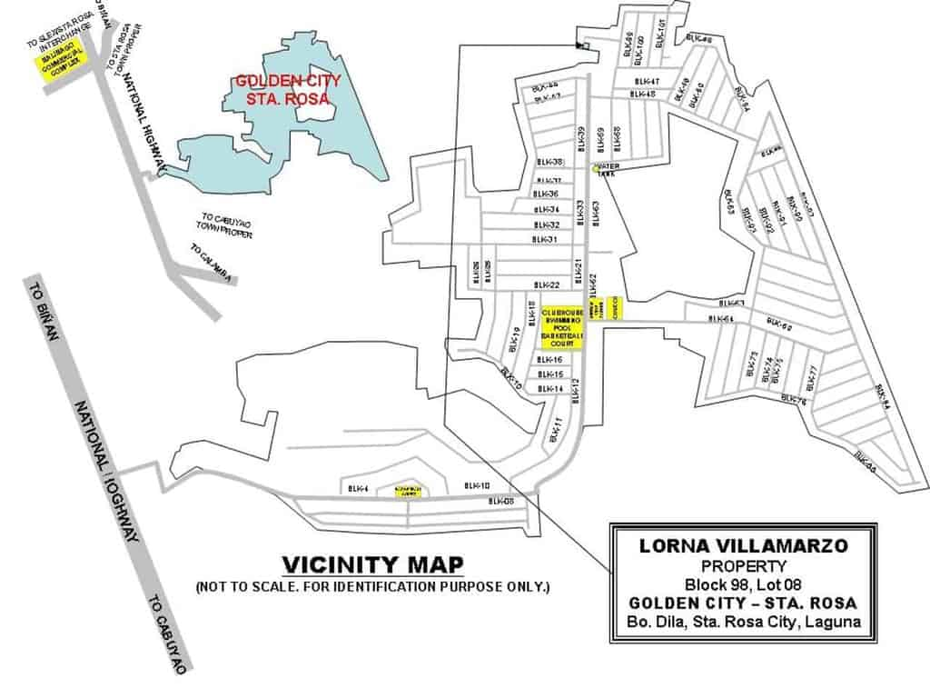 Bfs Foreclosed Property For Sale In Blk 98 Lot 8 Dila
